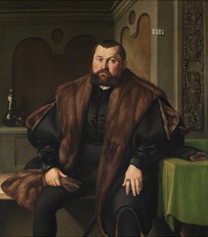 Portrait of Sigismund Baldinger (1510-155), 1545 by Georg Pencz
