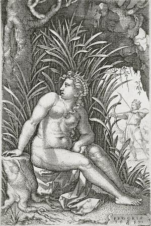 Procris Killed by Cephalus, 1539
