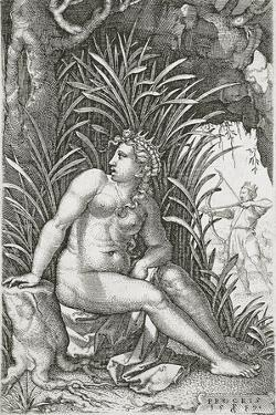 Procris Killed by Cephalus, 1539 by Georg Pencz