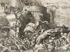 The Capture of Carthage, 1539 by Georg Pencz