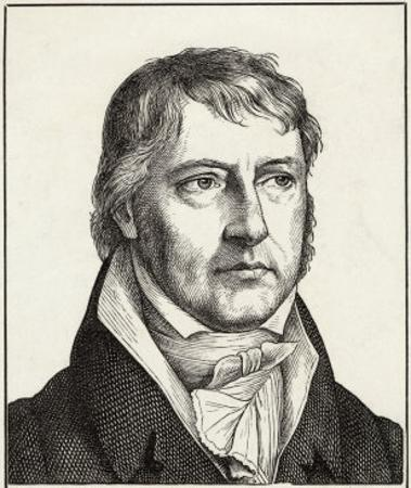 Georg Wilhelm Friedrich Hegel German Philosopher
