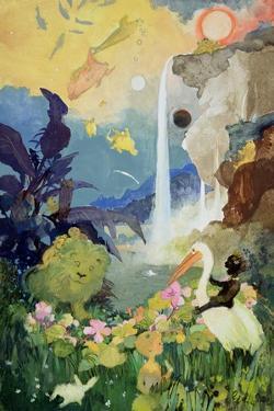 Fantasy Nature Scene by George Adamson