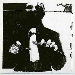 Illustration for 'Nursing a Blind Patient' an article in 'Nursing Times', published Oct, 30 1975 by George Adamson