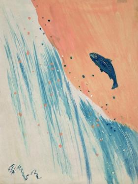 Salmon Leap by George Adamson