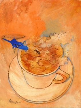Storm in a Teacup, 1970s by George Adamson