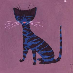 The Blue Cat, 1970s by George Adamson