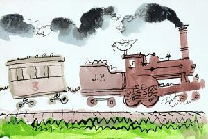 The Steam Train, Part I, 1952 by George Adamson