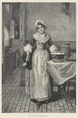 Come, Stir the Christmas Pudding! by George Adolphus Storey