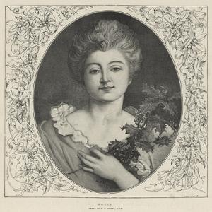 Holly by George Adolphus Storey