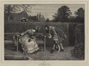 Love in a Maze by George Adolphus Storey