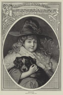 Mistletoe by George Adolphus Storey