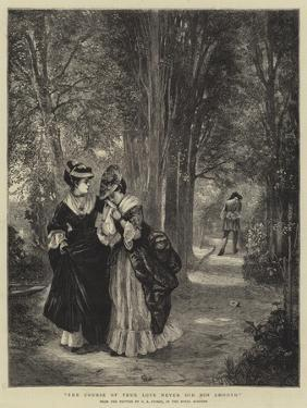 The Course of True Love Never Did Run Smooth by George Adolphus Storey