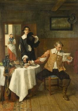 The Hungry Messenger, 1890 by George Adolphus Storey