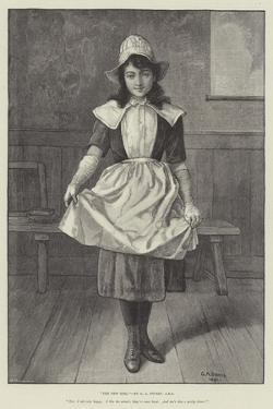 The New Girl by George Adolphus Storey
