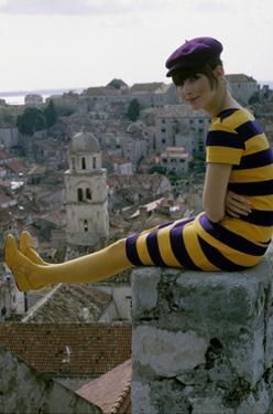 Mademoiselle - February 1966 by George Barkentin