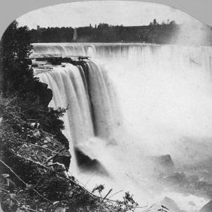 Horseshoe Falls as Seen from Goat Island, Niagara Falls, Early 20th Century by George Barker