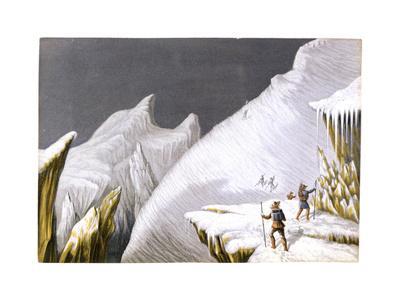 The Mur De La Cote, C1855