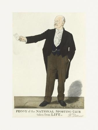 Peggy of the National Sporting Club