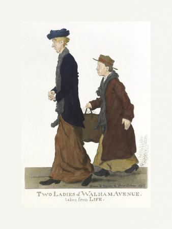 Two Ladies of Walham Avenue