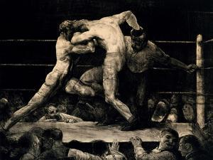 A Stag At Sharkey's by George Bellows