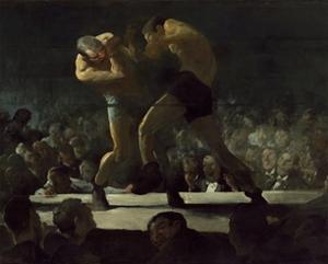 Club Night, 1907 by George Bellows