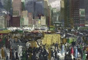 New York, 1911 by George Bellows