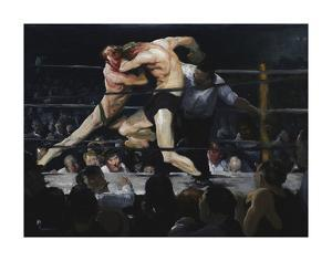 Stag at Sharkey's, 1909 by George Bellows