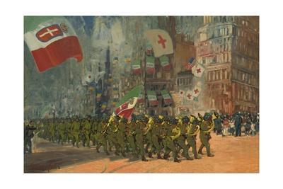 The Bersaglieri, 1918