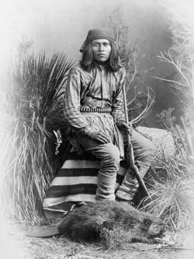 Apache Leader, 1885 by George Benjamin Wittick