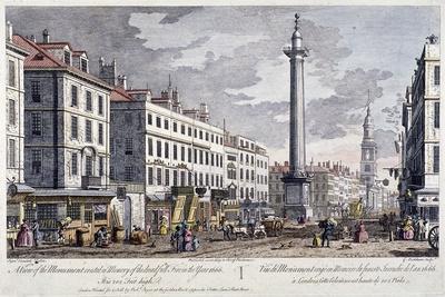 Monument, London, 1794