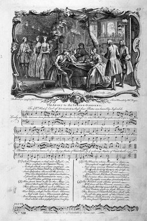 The Adieu to the Spring-Gardens, 1737
