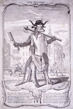 The Butcher, 1740