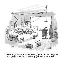 Affordable George Booth New Yorker Cartoons Poster for sale at