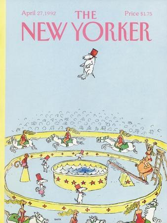 The New Yorker Cover - April 27, 1992