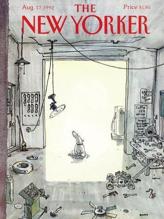 The New Yorker Cover - August 17, 1992