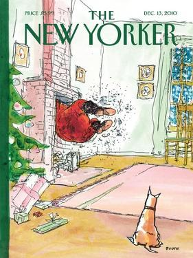 The New Yorker Cover - December 13, 2010 by George Booth