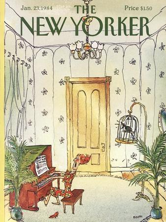The New Yorker Cover - January 23, 1984