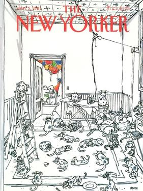 The New Yorker Cover - January 5, 1981 by George Booth