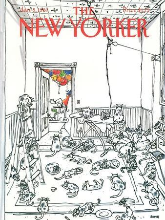 The New Yorker Cover - January 5, 1981