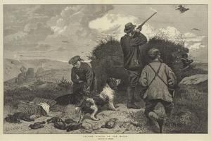 Driving Grouse on the Moors by George Bouverie Goddard