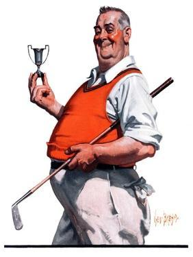"""Golf Trophy,""June 6, 1925 by George Brehm"