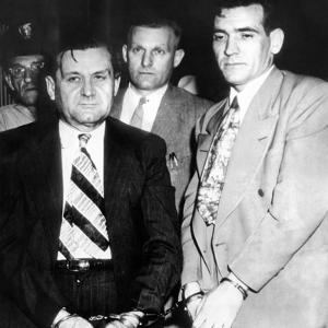 George 'Bugs' Moran and Virgil Summers, Booked at Dayton, Ohio, for $10,000 Holdup of Local Tavern