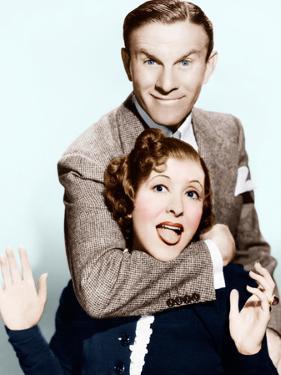 George Burns, Gracie Allen, (aka Burns and Allen), ca. 1936