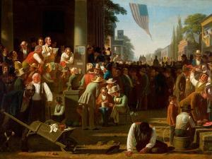 The Verdict of the People, 1854–55 by George Caleb Bingham