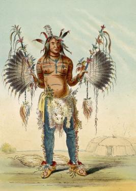 Medicine Man of the Mandan People by George Catlin