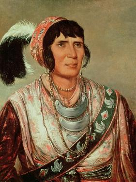 Portrait of Osceola (1804-38) by George Catlin