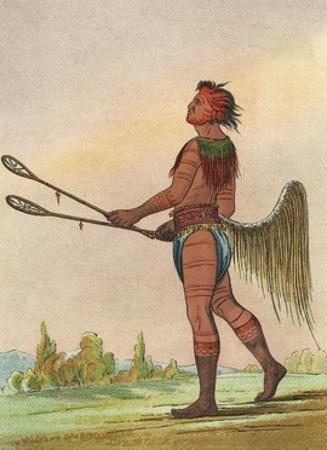 Racial, Choctaw Native by George Catlin