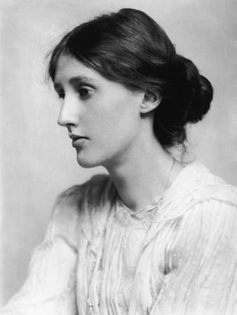 Virginia Woolf, British Author, 1902 by George Charles Beresford