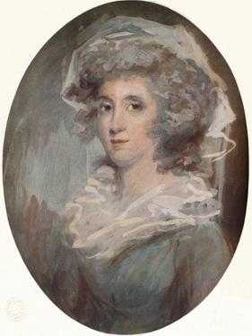 Miss O'Neil, c1776-1852, (1919) by George Chinnery