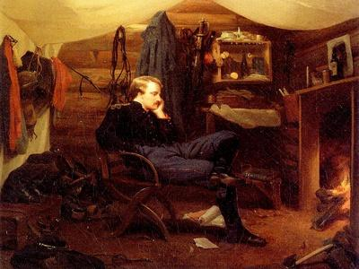 Winter Quarters in Virginia, Army of the Potomac, 1866